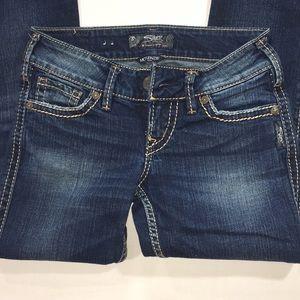 Silver McKenzie Slim Flap Jeans